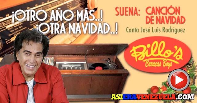 El Puma José Luis Rodríguez nos canta en la Navidad