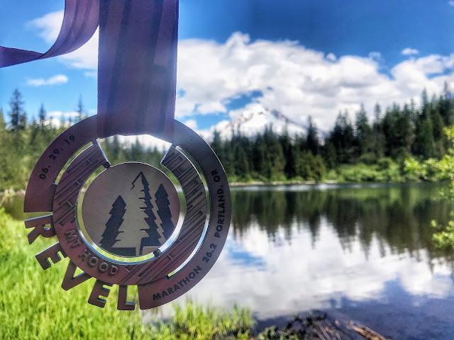 Revel Mt. Hood 2019 medal