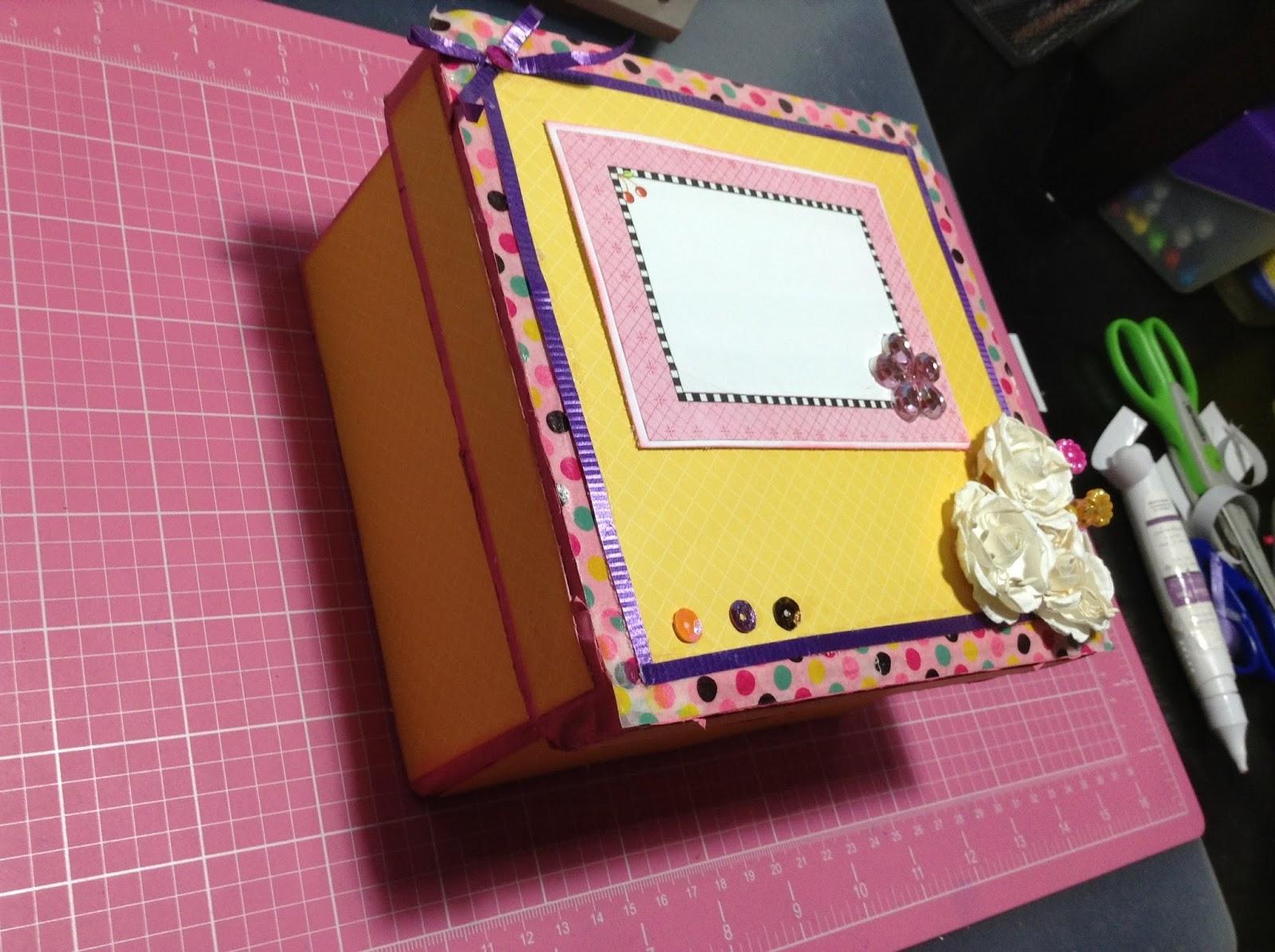 Todo sobre manualidades y artesan as cajas de cart n - Cajas grandes de carton decoradas ...