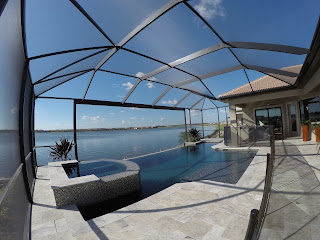 Toscana Isles new luxury model home pool