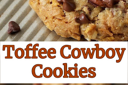 Toffee Cowboy Cookies