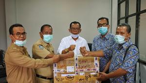 Pemkab Bima Terima Bantuan APD dari Perusahaan Telekomunikasi TBG
