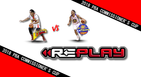 Video Playlist: SMB vs TNT game replay June 16, 2018 PBA Commissioner's Cup