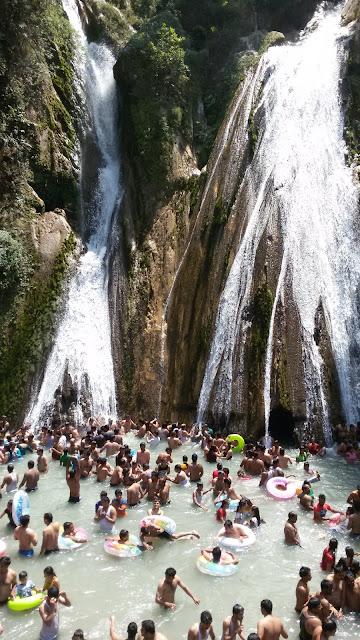 Water Falls in Mussoorie