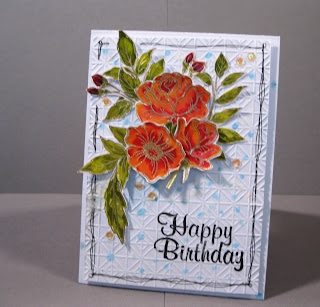 Water Coloured Cards