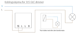 315 GLE dimmer