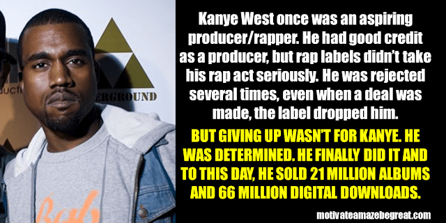 Success Stories From Famous People Who Failed Before Succeeding: Kanye West