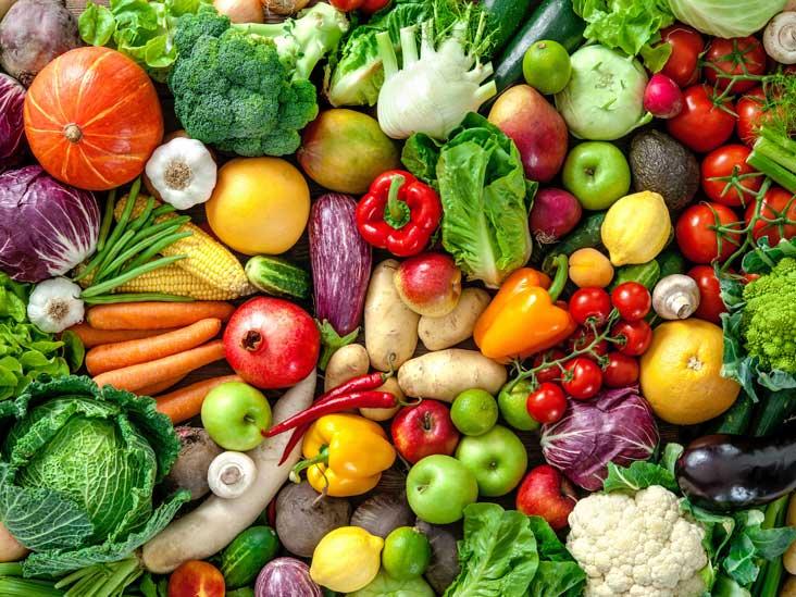 mengobati jerawat dengan buah dan sayur