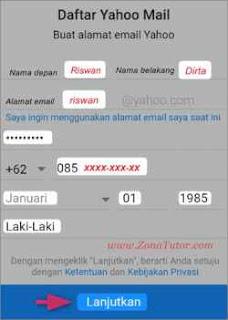 Cara Buat Email Yahoo Lewat Hp Android