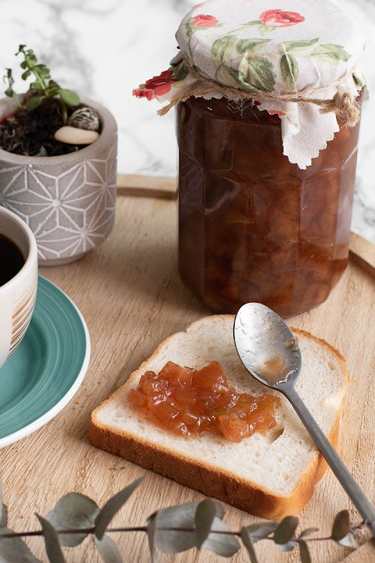 recette Confiture rhubarbe vanille
