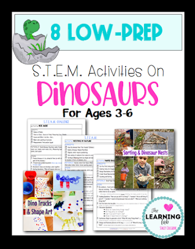 Dinosaur lesson plans for preschool, pre-k, kindergarten