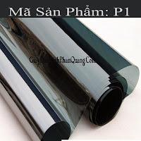 Decal dán kính chống nắng phản quang mã P1