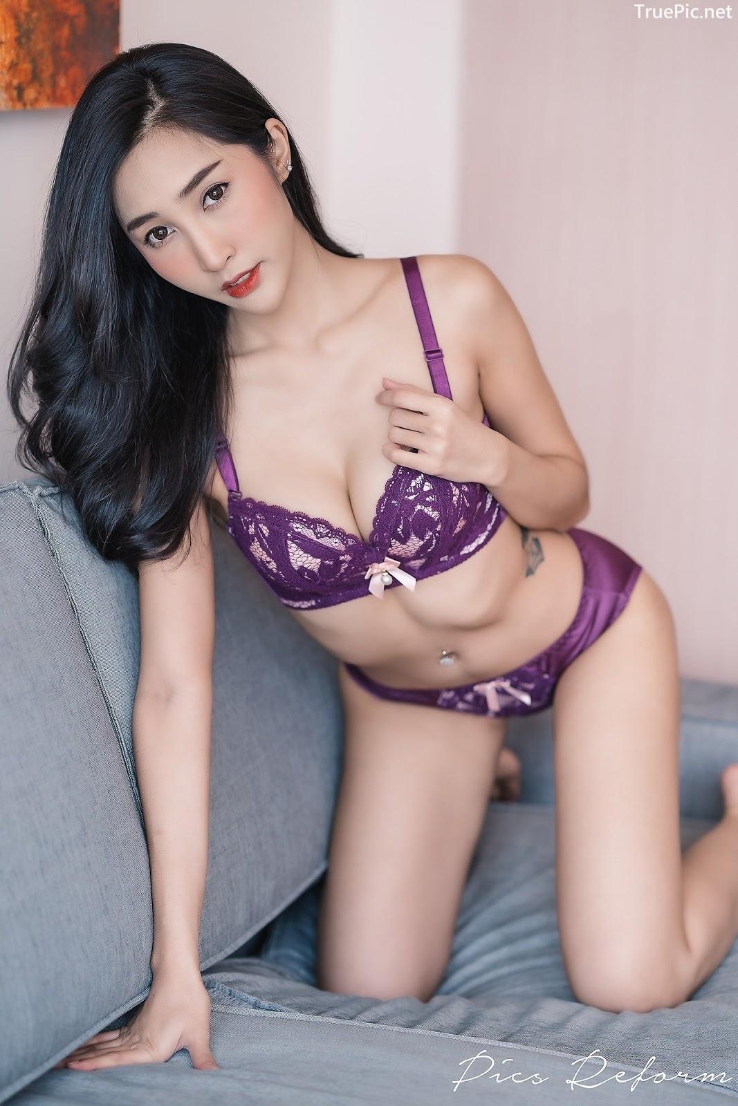 Image-Thailand-Sexy-Model-Yanapat-Ukkararujipat-Violet-Girl-TruePic.net- Picture-4