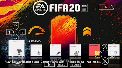 FIFA 20 Mod PPSPP Android Season 2019/2020
