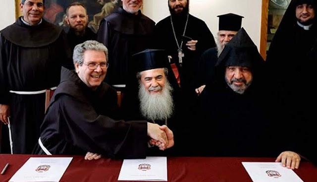 Restaurarán la iglesia del Santo Sepulcro en Jerusalén