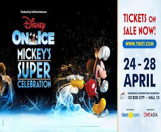 Cari tiket event disney on ice