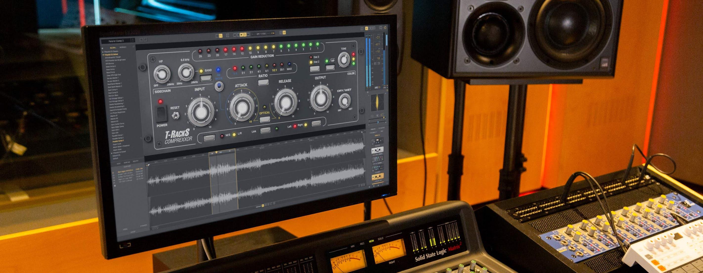 IK Multimedia releases T-RackS Comprexxor