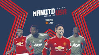 Daftar Pemain Manchester United Tur Pramusim ICC 2018 Amerika Serikat