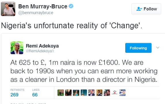 Nigerians Can't Eat, Yet We Are Budgeting N40m To Feed ...