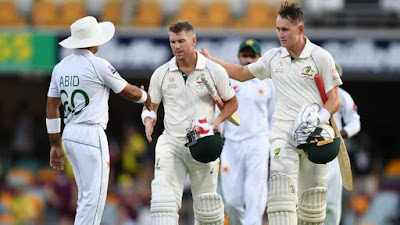Pakistan cruise to innings win in first Test | Aus vs Pak Test Match
