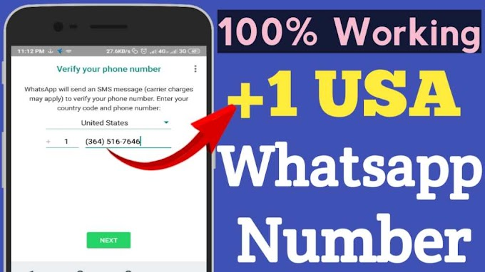 How To Create Whatsapp Account With USA +1 Number 100% Working Trick 2020