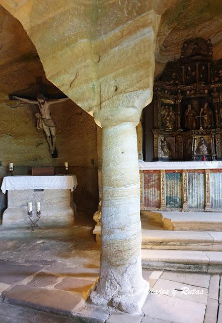 Pilares de la iglesia de los Santos Justo y Pastor