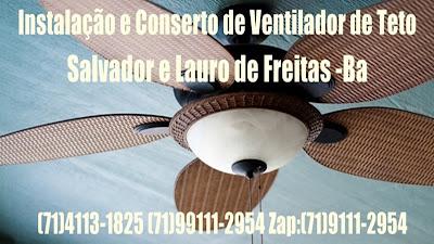 Serviço de encanador e eletricista em Lauro de Freitas-BA (71)99111-2954 Zap