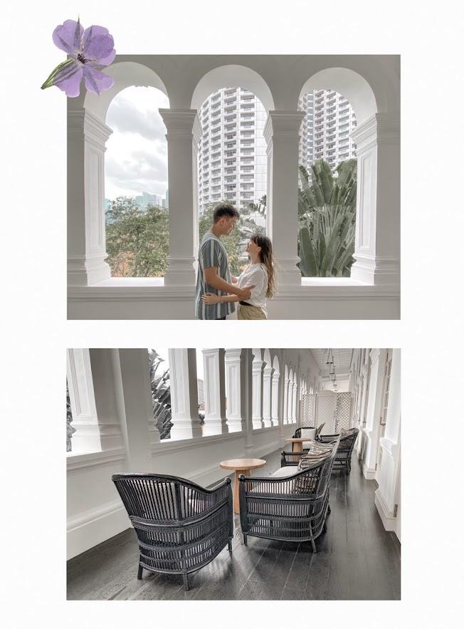raffles hotel balcony