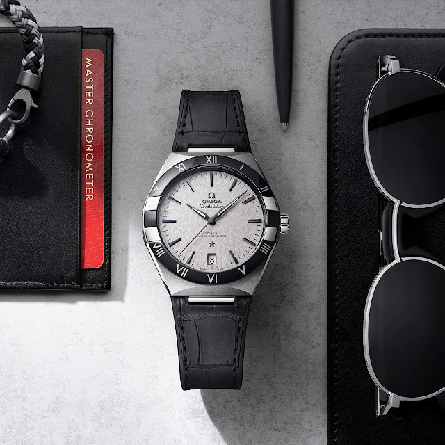Omega Constellation Gents' Collection 41 mm in steel