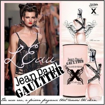 Classique X Collection L'eau by Jean Paul Gaultier