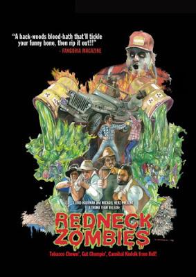 Póster película Redneck Zombies
