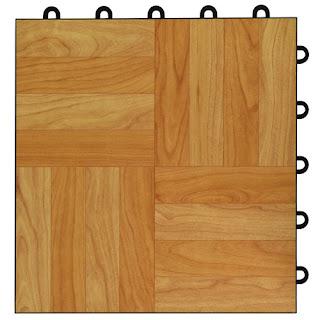 Greatmats Max Tile Raised Floor Tile vinyl top plastic base parquet