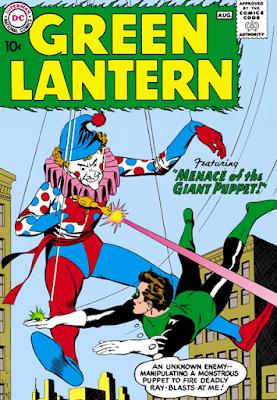 Green Lantern (1960) #1 Cover