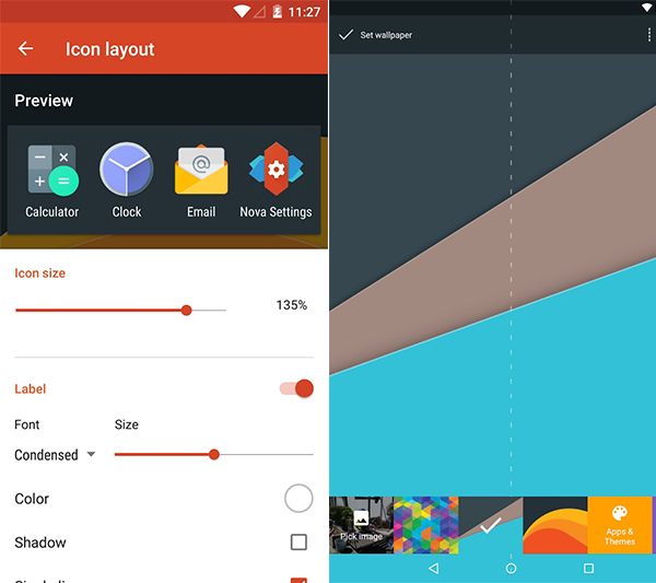 Nova Launcher Prime + Aeon Icon Pack Apk