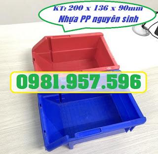 Khay nhựa vát đầu, khay linh kiện nhỏ, khay nhựa chống tầng