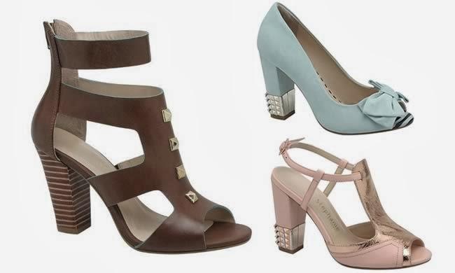 807c160c9a Modelos Sapatos Moda Verão 2014 Femininos