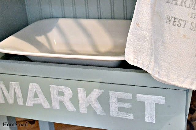 How to Create a DIY Farmhouse Style Dish Rack with a Hand Painted Sign