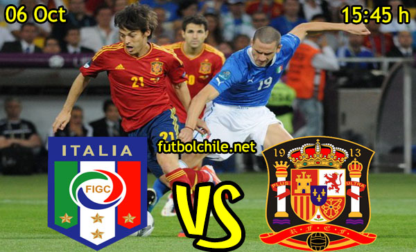 Ver stream hd youtube facebook movil android ios iphone table ipad windows mac linux resultado en vivo, online:  Italia vs España