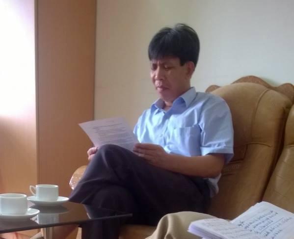 Ông Nguyên Huy Thành, Phó Bí thư Đảng ủy