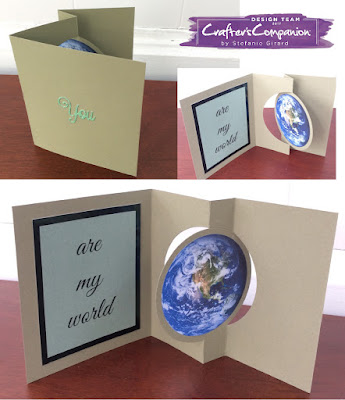 Earth day card, mother's day card, crafter's companion, stefanie girard