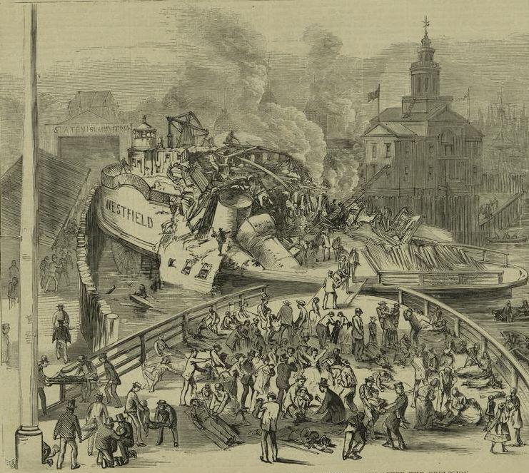new york history geschichte staten island ferryboat disaster 1871. Black Bedroom Furniture Sets. Home Design Ideas