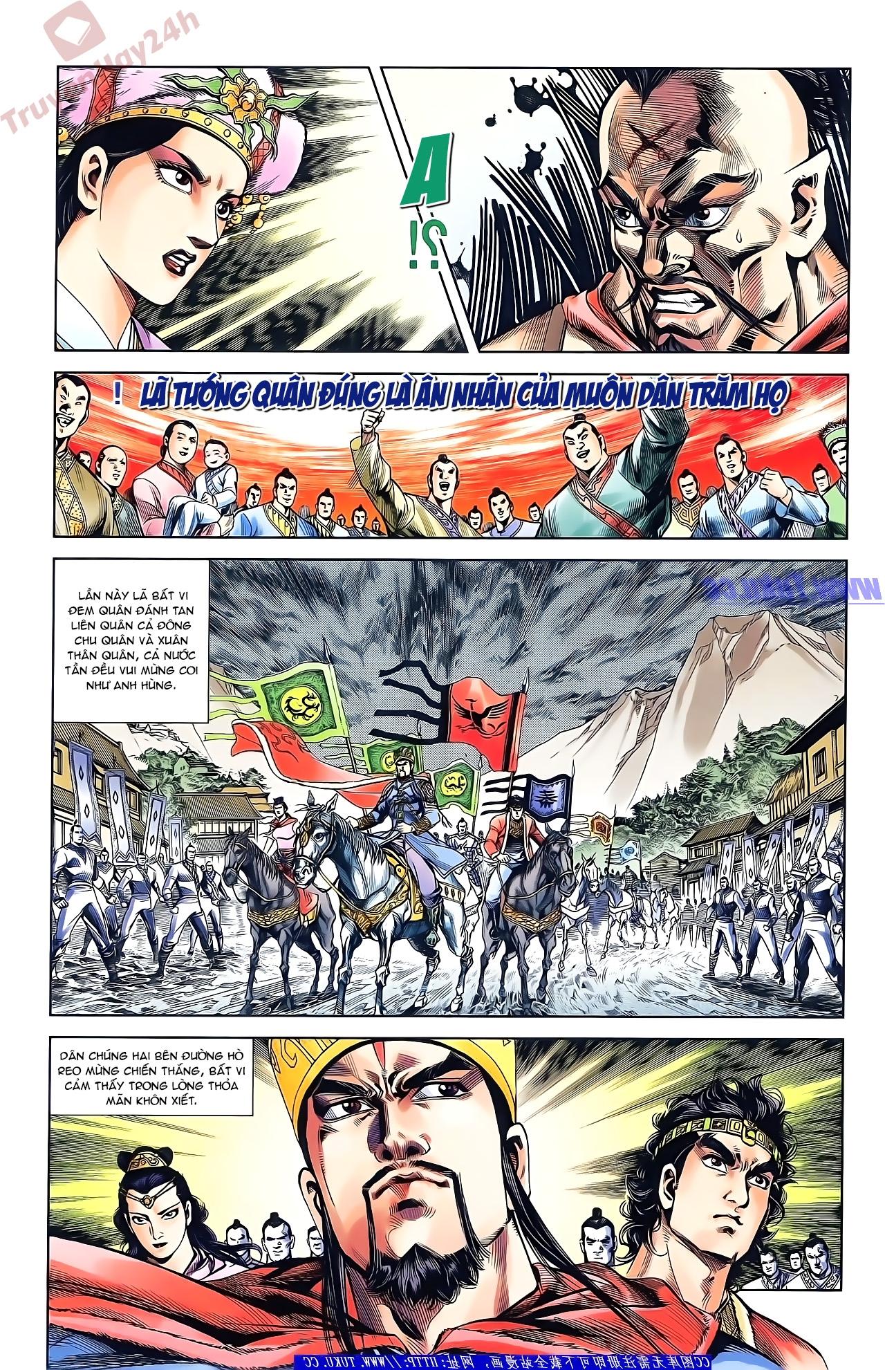 Tần Vương Doanh Chính chapter 50 trang 11