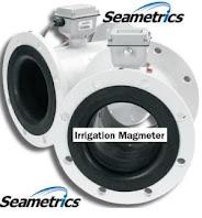 Irrigation magmeter