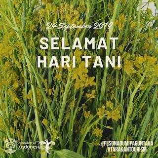 Selamat Memperingati Hari Tani 2019 - Tarakan.Info