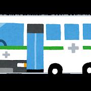 献血車のイラスト