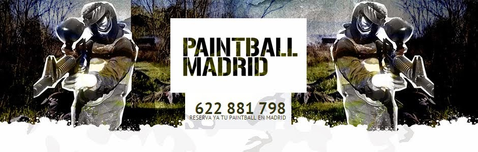 Paintball Madrid - Paintball desde 15€ en Madrid