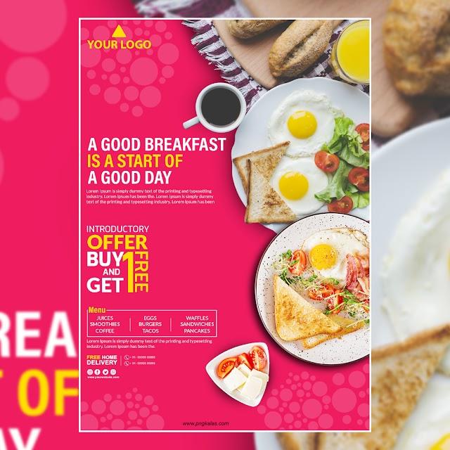 Breakfast Poster Design