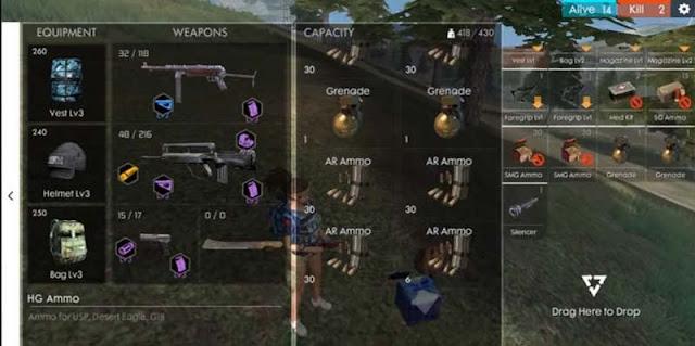 Senjata akurat freefire