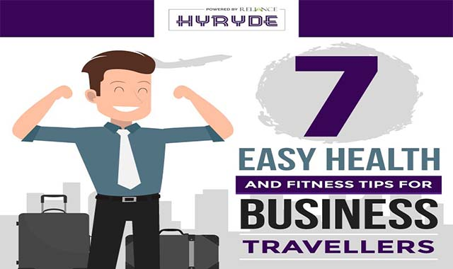 7 Easy Health and Fitness Tips For Business Travellers