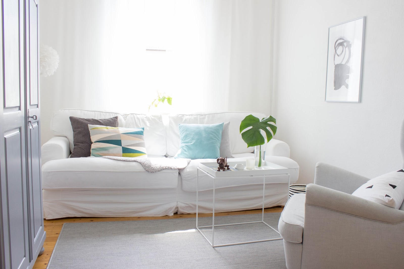 Kleines wohnzimmer entspannt einrichten meine - Mini wohnzimmer ...
